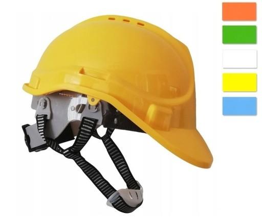 Helm Kask Ochronny Budowlany Regulacja Pokretlem 9315239052 Allegro Pl