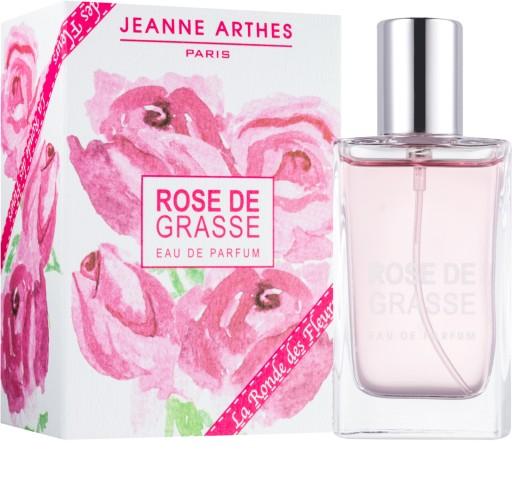 jeanne arthes la ronde des fleurs - rose de grasse