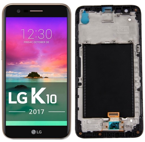 EKRAN LCD DOTYK DIGITIZER SZYBKA SZYBA LG K10 2017