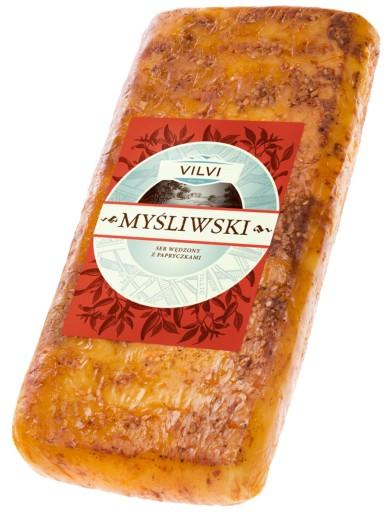 Ser wędzony Myśliwski papryka ok. 1 kg Vilvi