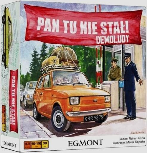 Pan Tu Nie Stal Demoludy Gra Planszowa Prl Egmont 44 97 Zl 8687723251 Allegro Pl