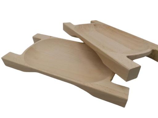Drewniane Korytko Taca Staropolska Niecka Talerz