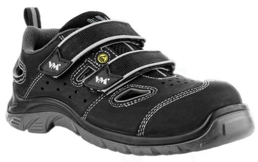 Sandały robocze buty VM Lyon S1 wygodne, mocne 10782181146 Obuwie Męskie Męskie ZI YRQOZI-8
