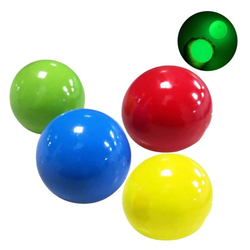 Antystresowe Pilki Globbles Fluorescencyjne 4 Szt 10097073695 Allegro Pl