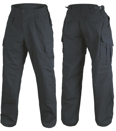 TEXAR SPODNIE WOJSKOWE WZ10 RIPSTOP CZARNE XL 9627389912 Odzież Męska Spodnie BB PZFPBB-8