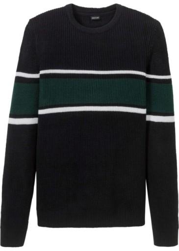 K280 BPC Dzianinowy sweter męski r.48/50 10702851039 Odzież Męska Swetry JL GMSKJL-9