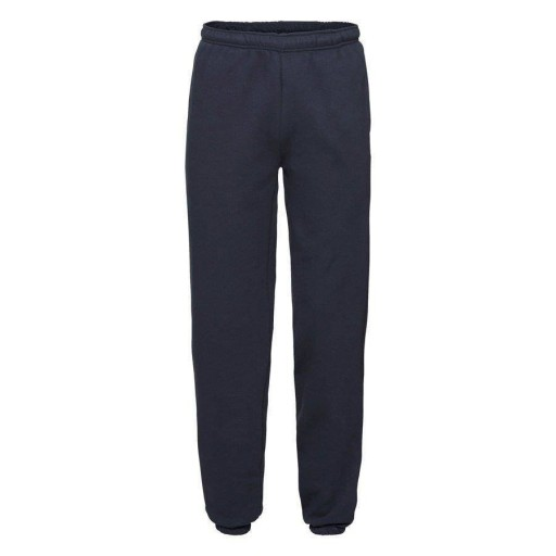 MĘSKIE spodnie dresy FRUIT PREMIUM CUFF c.gran L 10680223363 Odzież Męska Spodnie HS WLOCHS-9