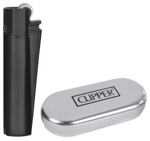 Купить Зажигалка Clipper Metal BLACK MATT plus: отзывы, фото и характеристики на Aredi.ru