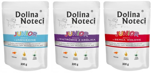 DOLINA NOTECI JUNIOR mix 9 szt po 300g