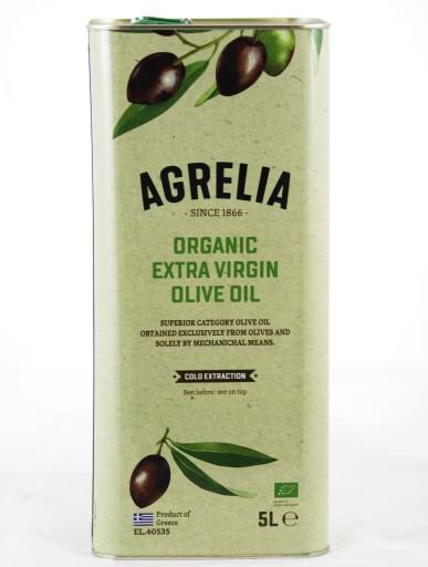 Oliwa z oliwek BIO Extra Virgin AGRELIA ORGANIC 5L