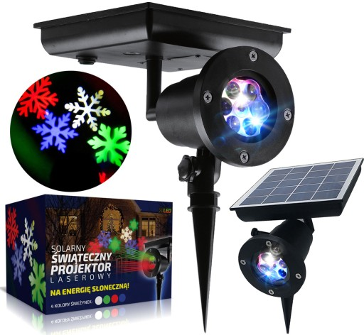 Projektor Swiateczny Laserowy Solarny Led Rgb Ip65 8600021961 Allegro Pl