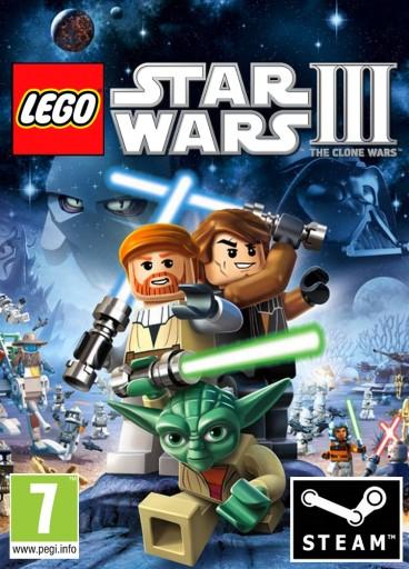 LEGO Star Wars III The Clone Wars PC klucz STEAM