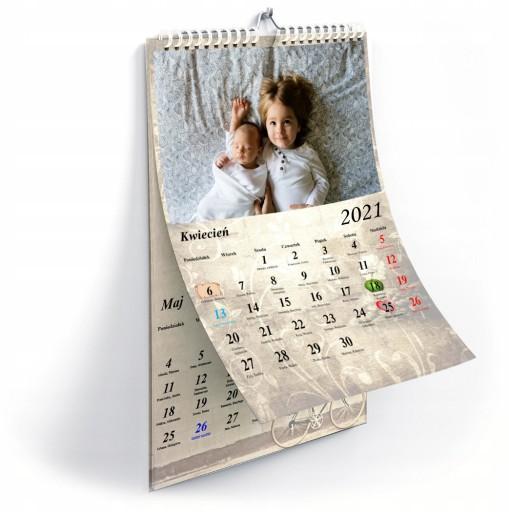 Foto Kalendarz 13 Kart A3 Twoje Zdjecia Kreator 20 Zl Allegro Pl Raty 0 Darmowa Dostawa Ze Smart Lodz Stan Nowy Id Oferty 7076999456