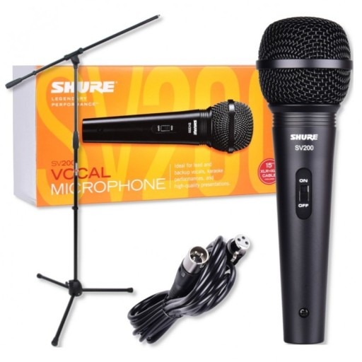 Shure Sv 200 Statyw Mikrofon Dynamiczny 8485551800 Sklep Internetowy Agd Rtv Telefony Laptopy Allegro Pl