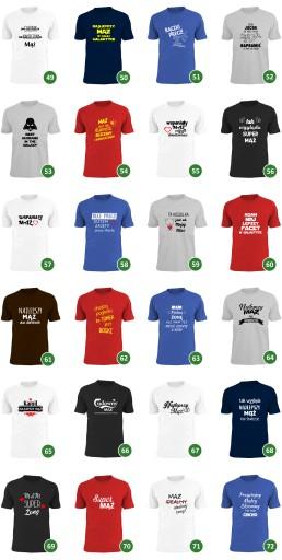 mąż cenniejszy niż złoto koszulki dla par męża żon 9643610905 Odzież Męska T-shirty QZ FDAEQZ-2