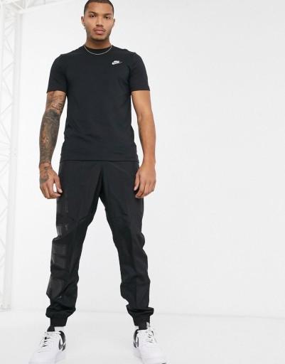 NIKE T-SHIRT MĘSKI CZARNY KLASYCZNY LOGO S 2XAB 10783373328 Odzież Męska T-shirty CI CWLECI-5