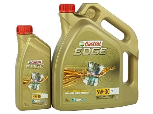 CASTROL EDGE 5W30 C3 TITANIUM FST 6L