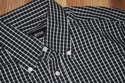 HUGO BOSS****koszula męska***39/15,5 10740399364 Odzież Męska Koszule CQ TKJICQ-4