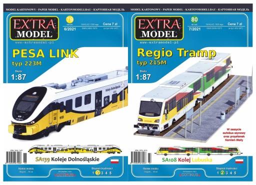 PESA LINK 223M + Regio Tramp 215M Extra Model