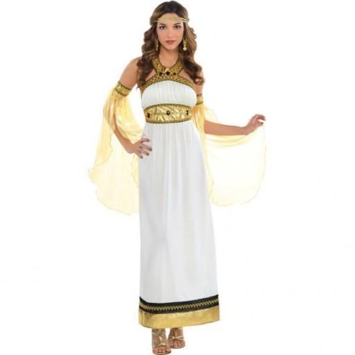 STRÓJ BOGINI GRECKIEJ KSIĘŻNICZKI STAROŻYTNOŚĆ XL