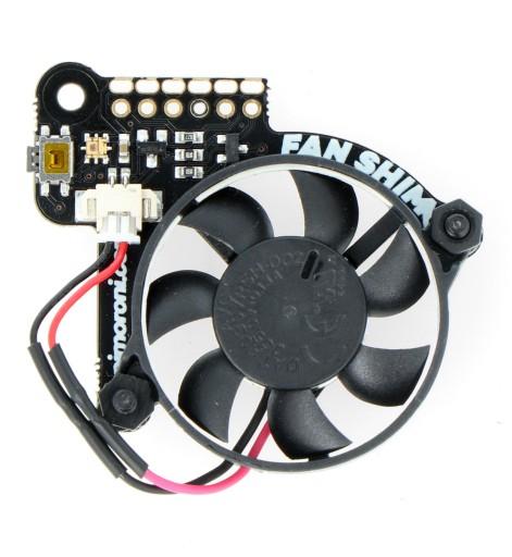 Fan Shim Wentylator Dla Raspberry Pi 4b 3b 3b 2b Sklep Komputerowy Allegro Pl