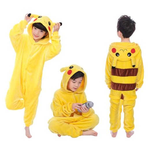 Pikachu Pizama Kigurumi Onesie Dres Pika 146 152cm 10013082965 Allegro Pl