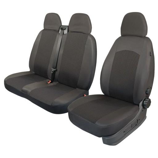 Pokrowce na fotele samochodowe: FIAT DUCATO, SCUDO