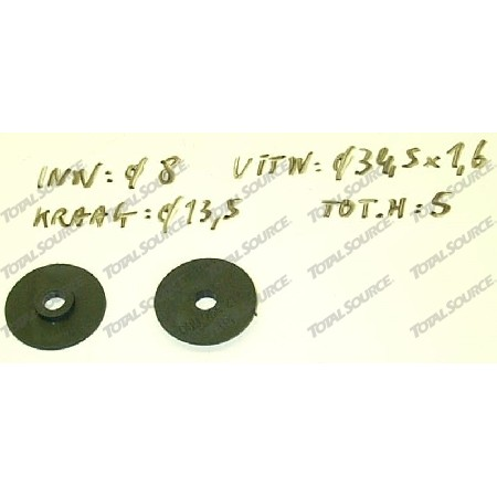 GASKET THE WINDOW LINDE 39X 0009642185
