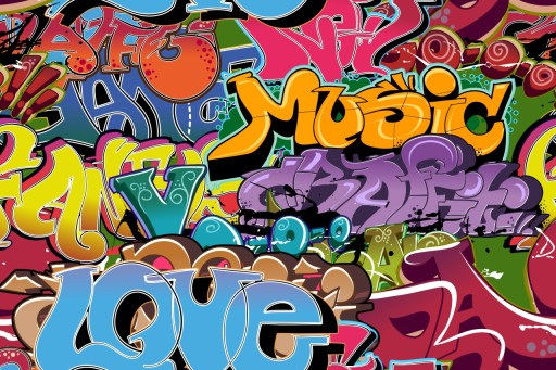 Fototapeta Na Wymiar Graffiti Mural Napisy Spray 9513049955 Allegro Pl