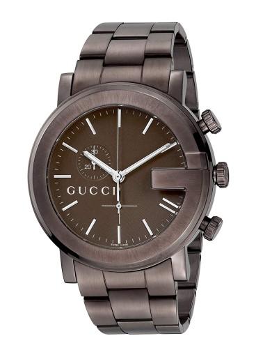 GUCCI YA101341 szafir chronograf SWISS MADE
