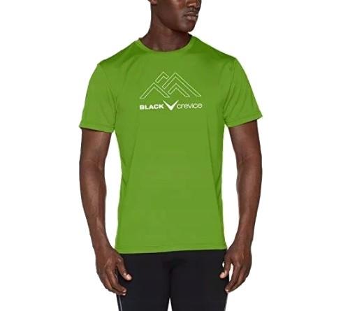 Black Crevice oddychająca koszulka tshirt DRY - M 10748165653 Odzież Męska T-shirty VT NAVZVT-4