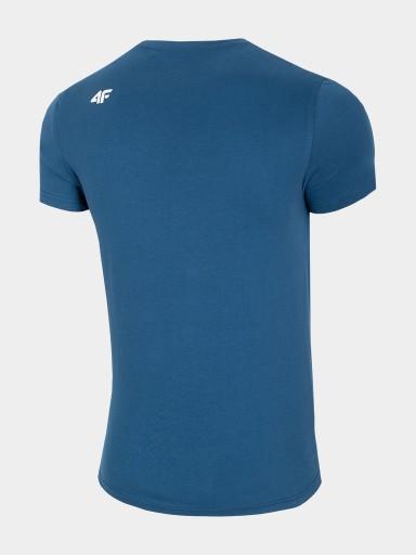 T-SHIRT KOSZULKA MĘSKA 4F TSM302 DENIM XXL 9810623089 Odzież Męska T-shirty CZ APZXCZ-1