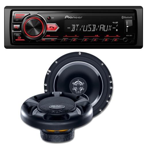 Radio Samochodowe Pioneer Mvh 29bt Glosniki 165 7907254516 Sklep Internetowy Agd Rtv Telefony Laptopy Allegro Pl