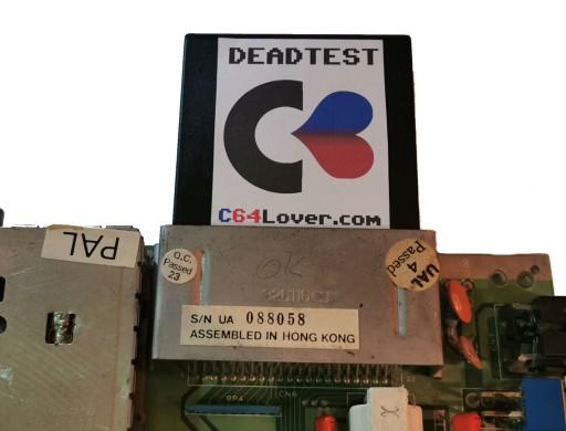 C64 C128 Dead Test Cartridge Sklep I Komputery Retro Allegro Pl