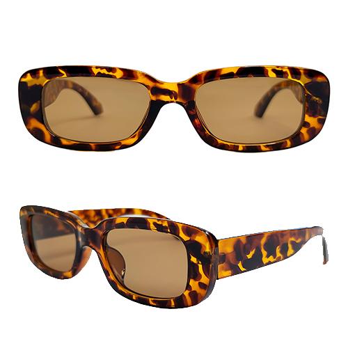 Okulary Przeciwsloneczne Prostokatne Panterka Ella 9390461163 Allegro Pl