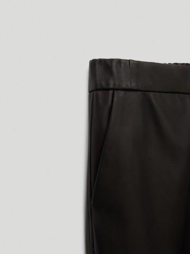 Massimo Dutti SPODNIE DAMSKIE 100% SKÓRA 36 S C2 10623780118 Odzież Męska Spodnie UN OEHSUN-3