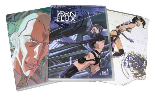 3xDVD - AEON FLUX: ANIMOWANA KOLEKCJA - odc 1-10