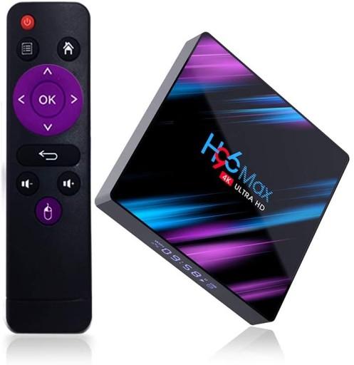 H96 Max 4 64gb Android Smart Tv Box Przystawka 4k 9455987394 Sklep Internetowy Agd Rtv Telefony Laptopy Allegro Pl