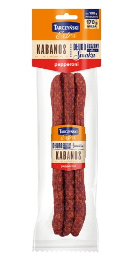 Kabanosy Tarczyński Extra Pepperoni 130g