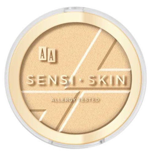 AA SensiSkin rozświetlacz 01 Golden Dust 9g 7760263732