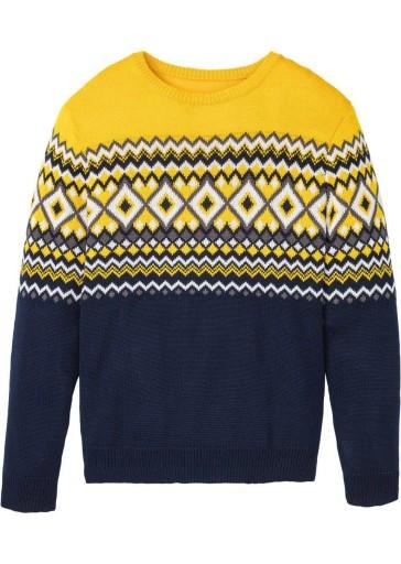 BONPRIX męski sweter 48-50 10620743260 Odzież Męska Swetry IP UMYKIP-3