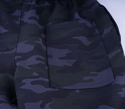 MĘSKIE SPODNIE DRESOWE ZE ŚCIĄGACZEM MORO r. XL 10103403510 Odzież Męska Spodnie ZN XRPYZN-9
