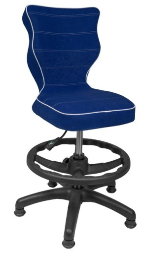 Krzesło obrotowe Entelo VISTO + Podnóżek r.3