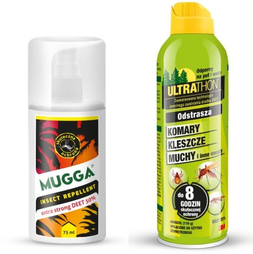 Srodek Spray Na Komary Tropikalne Ultrathon Mugga 6612927578 Allegro Pl