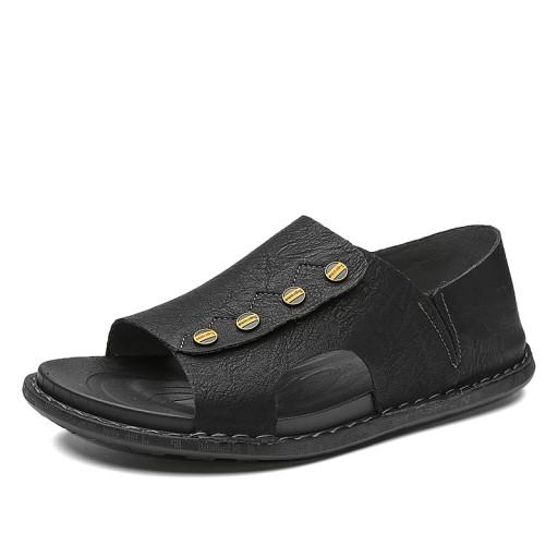 Sandały modne buty kapcie robocze męskie skorzane 10567492464 Obuwie Męskie Męskie ZX JOQKZX-3