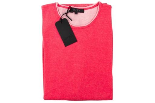 Sweter LIU JO MAGLIA męski cienki bawełna r. XXL 10529658001 Odzież Męska Swetry SX EKZNSX-7