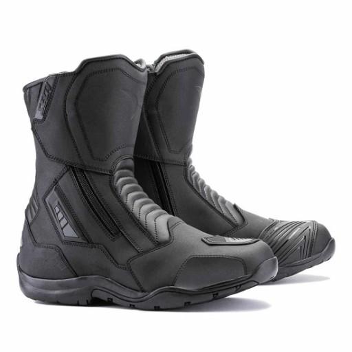 Sportowe buty motocyklowe męskie SECA HYPER WHITE Motoluka