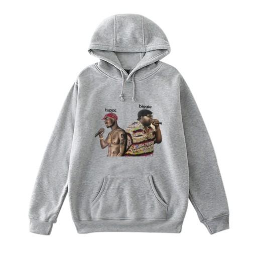 Sweter męski Czarna bluza z kapturem Mamba Kobe La 9626589768 Odzież Męska Swetry JT GZAOJT-1