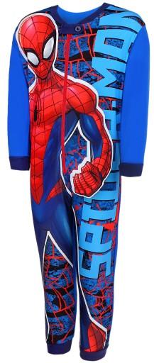 Piżama kombinezon Spiderman pająk 98 niebieski