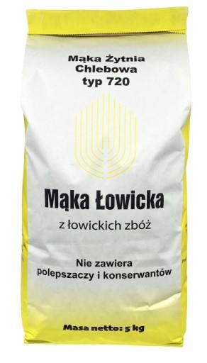 PROSTO Z MŁYNA mąka żytnia typ 720 chlebowa 5kg
